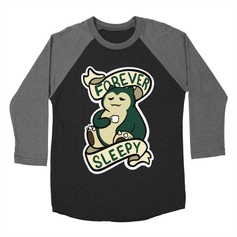 Forever sleepy Snorlax Men's Baseball Triblend Longsleeve T-Shirt by AnimeGravy