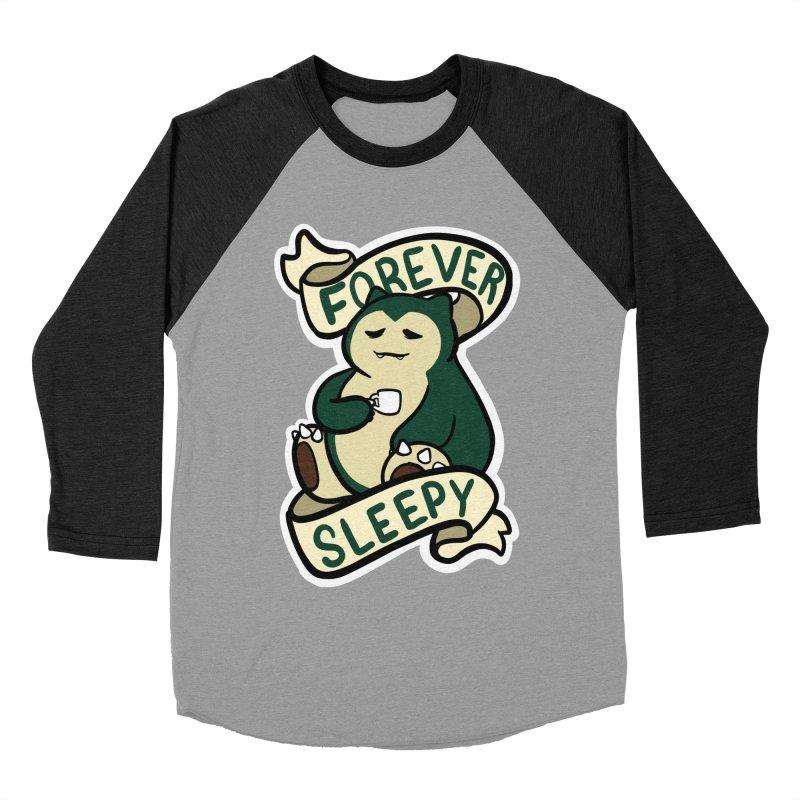 Forever sleepy Snorlax Men's Baseball Triblend Longsleeve T-Shirt by AnimeGravy