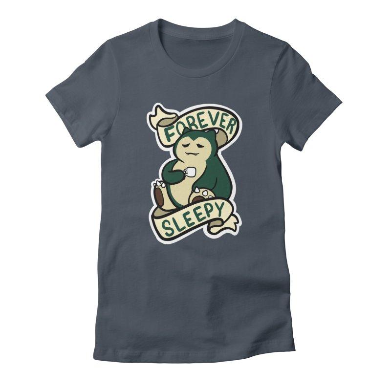 Forever sleepy Snorlax Women's T-Shirt by AnimeGravy