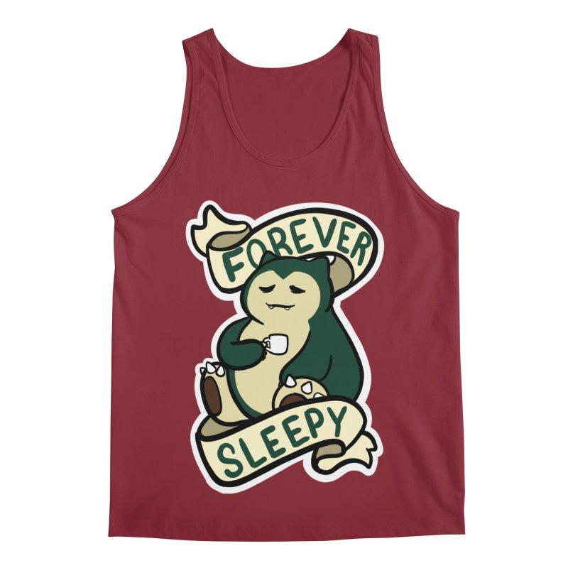 Forever sleepy Snorlax Men's Regular Tank by AnimeGravy