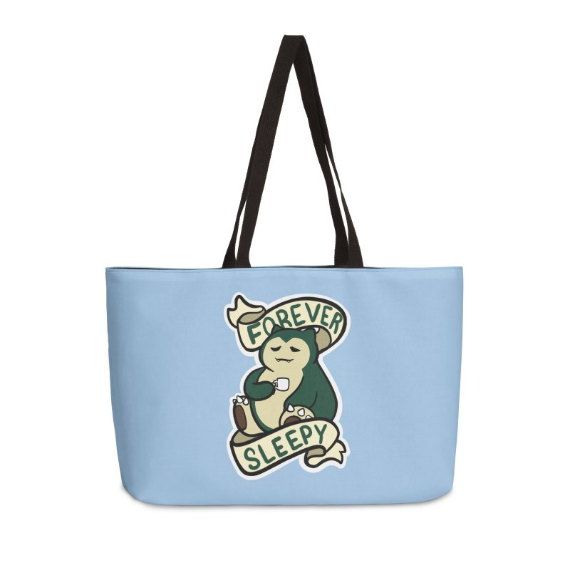 Forever sleepy Snorlax Accessories Bag by AnimeGravy