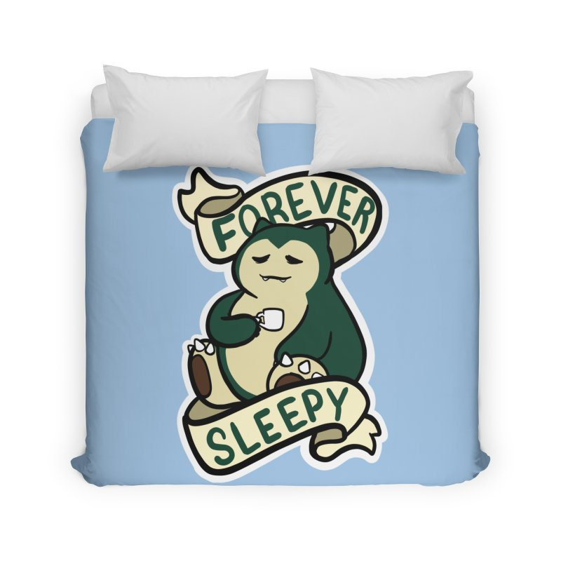 Forever sleepy Snorlax Home Duvet by AnimeGravy