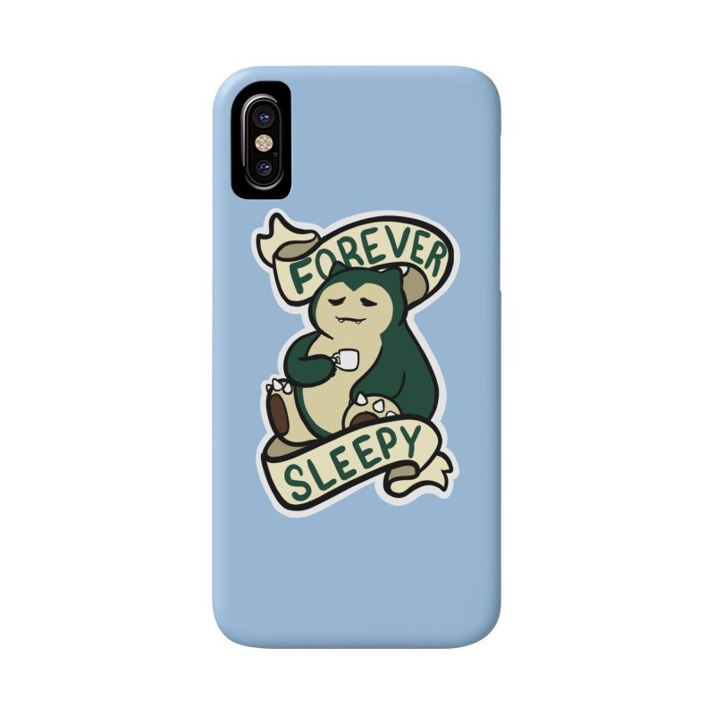 Forever sleepy Snorlax Accessories Phone Case by AnimeGravy