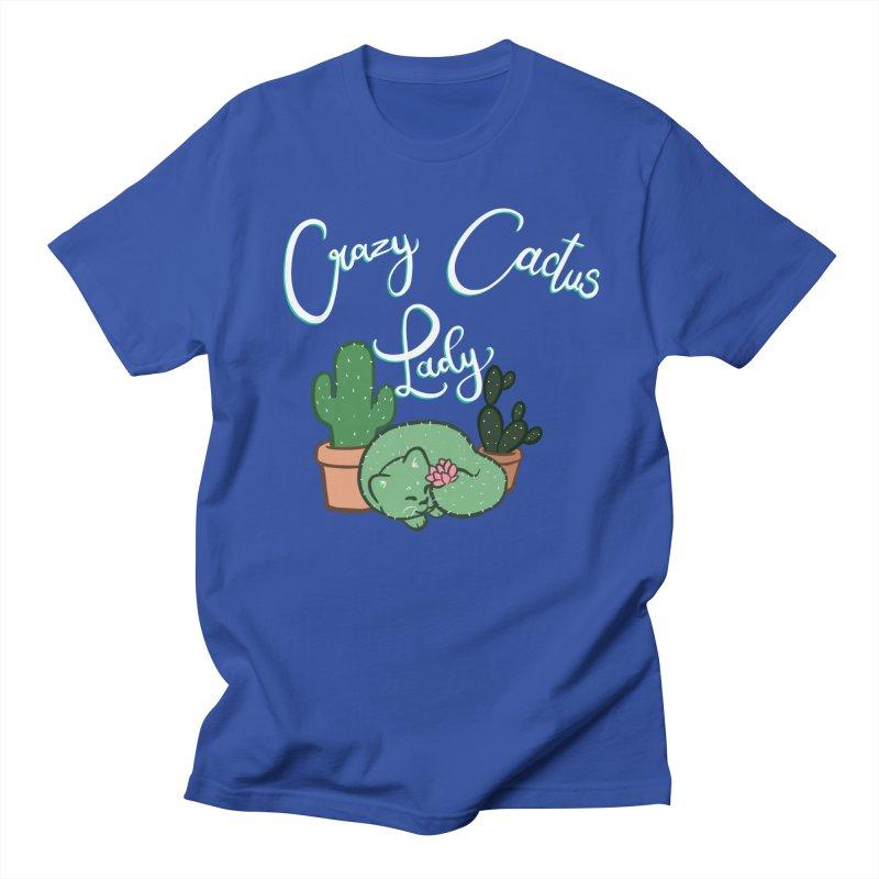 Crazy Cactus Lasy Women's Regular Unisex T-Shirt by AnimeGravy