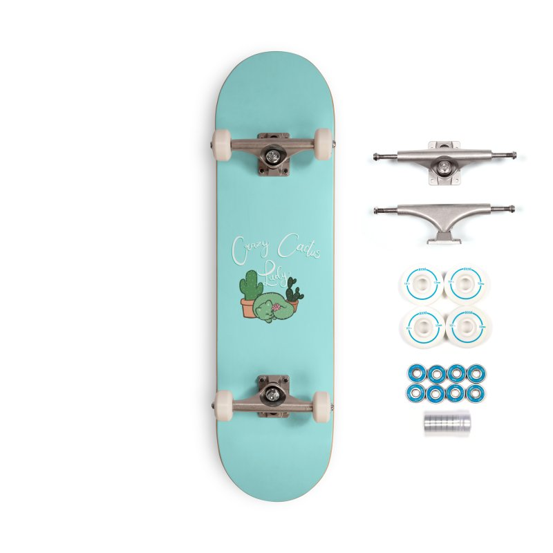 Crazy Cactus Lasy Accessories Complete - Basic Skateboard by AnimeGravy