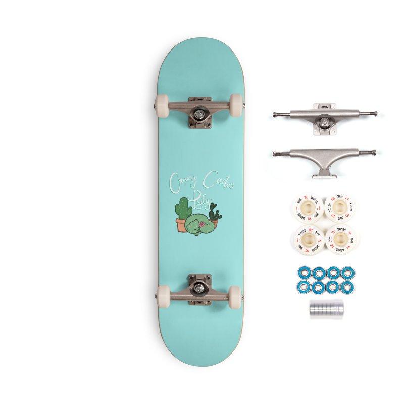 Crazy Cactus Lasy Accessories Complete - Premium Skateboard by AnimeGravy