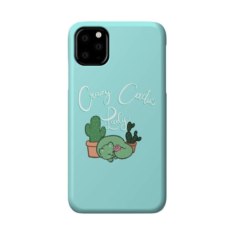 Crazy Cactus Lasy Accessories Phone Case by AnimeGravy