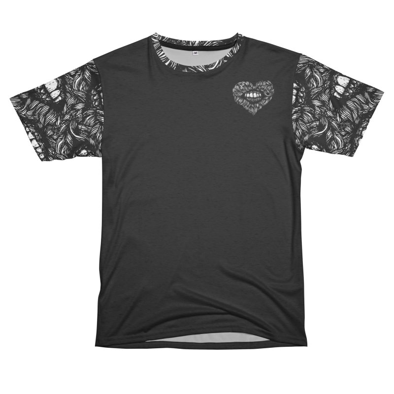 Tangled Heart Cut and Sew 2 Men's Cut & Sew by Anna Lisa Illustration