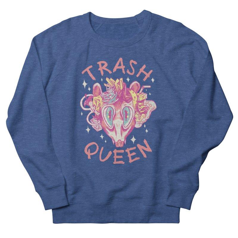 Trash Queen Women's Sweatshirt by Anna Lisa Illustration