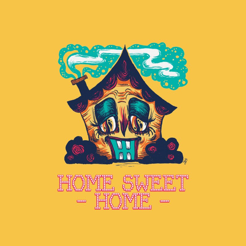 Home Sweet Home? Women's T-Shirt by Anna Lisa Illustration