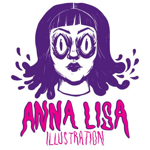 Anna Lisa Illustration Logo