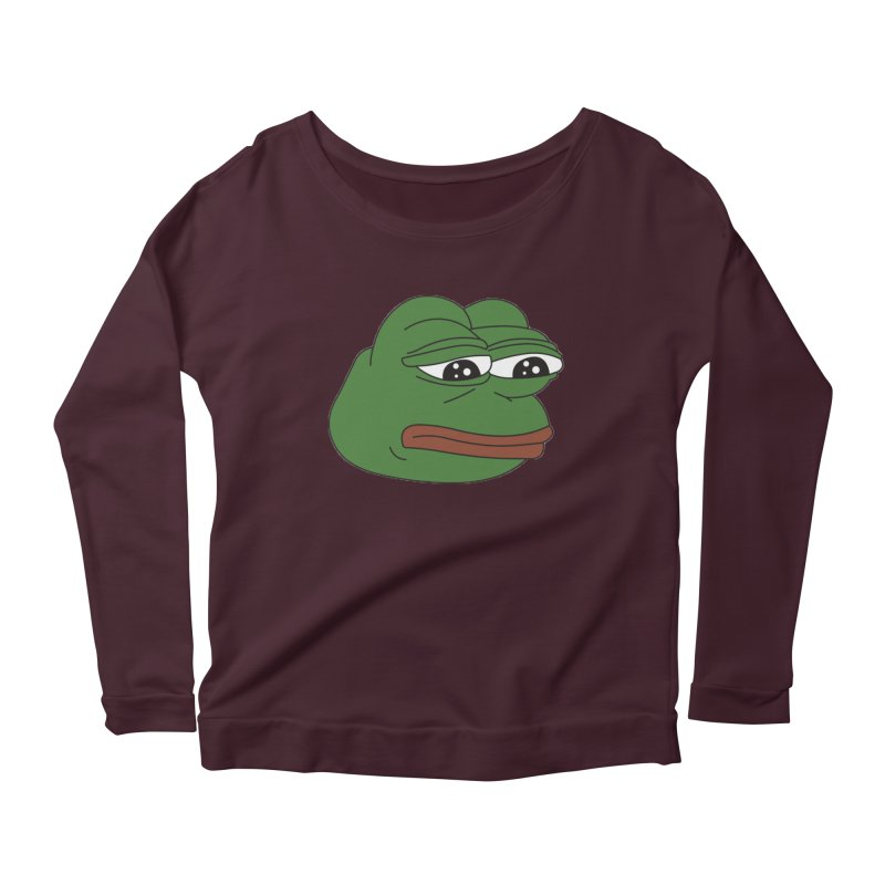 55ba59c1dc Super Rare Pepe The Frog Women s Longsleeve T-Shirt by Rad Stuff By  Anthonykun