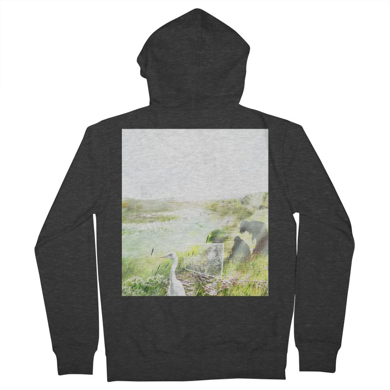 LONDON LEA VALLEY - BIRD SANCTUARY RESTORED Women's French Terry Zip-Up Hoody by ANTHROPOLESLEY