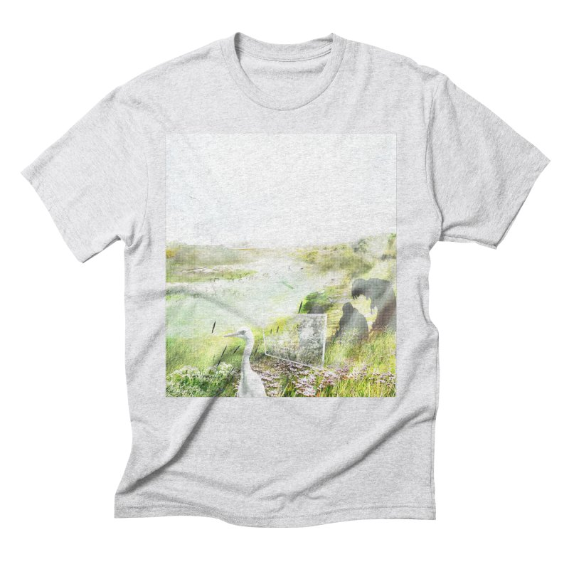 LONDON LEA VALLEY - BIRD SANCTUARY RESTORED Men's Triblend T-Shirt by ANTHROPOLESLEY