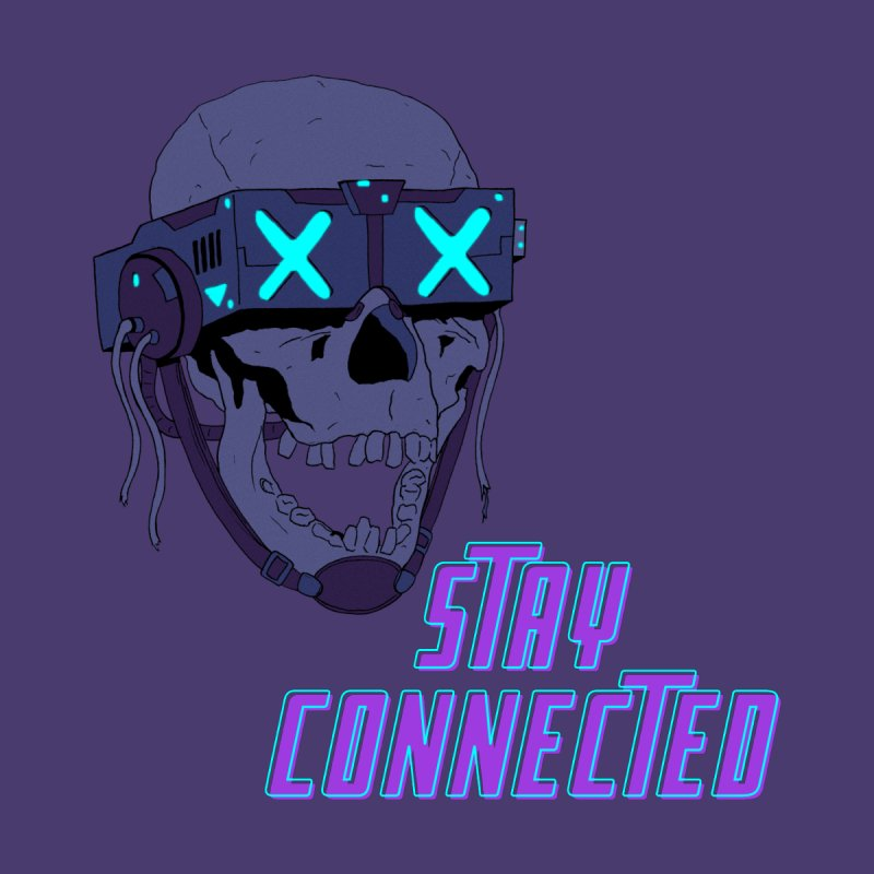 STAY_CONNECTED 2.0 Men's T-Shirt by Sketchworks by Antonio Tyler