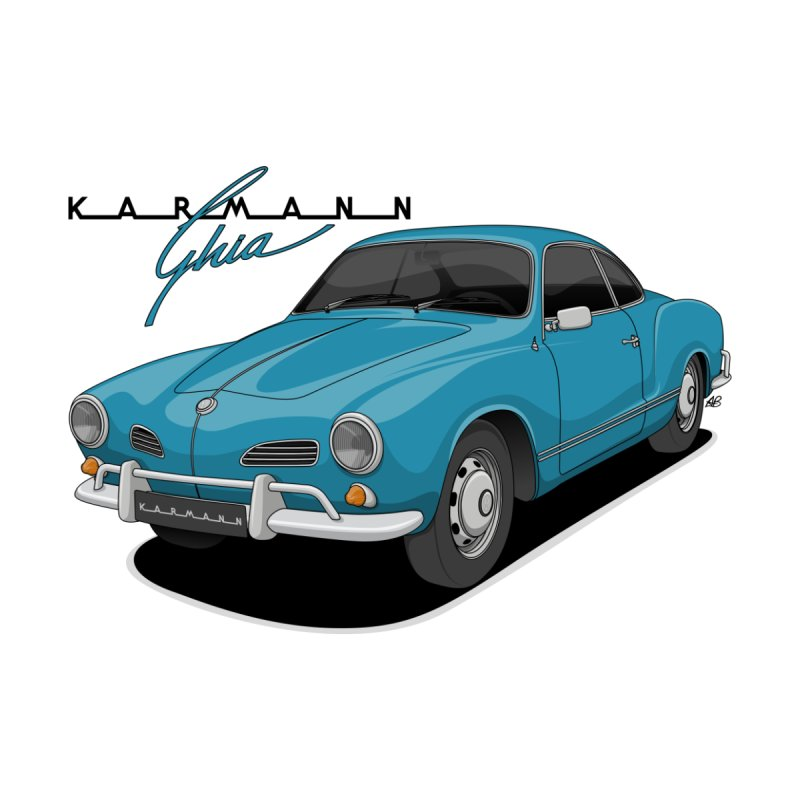 Karmann Ghia Men's T-Shirt by Apparel By AB