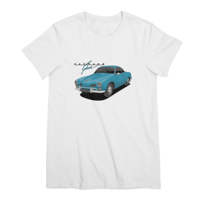 Karmann Ghia Women's Premium T-Shirt by Apparel By AB