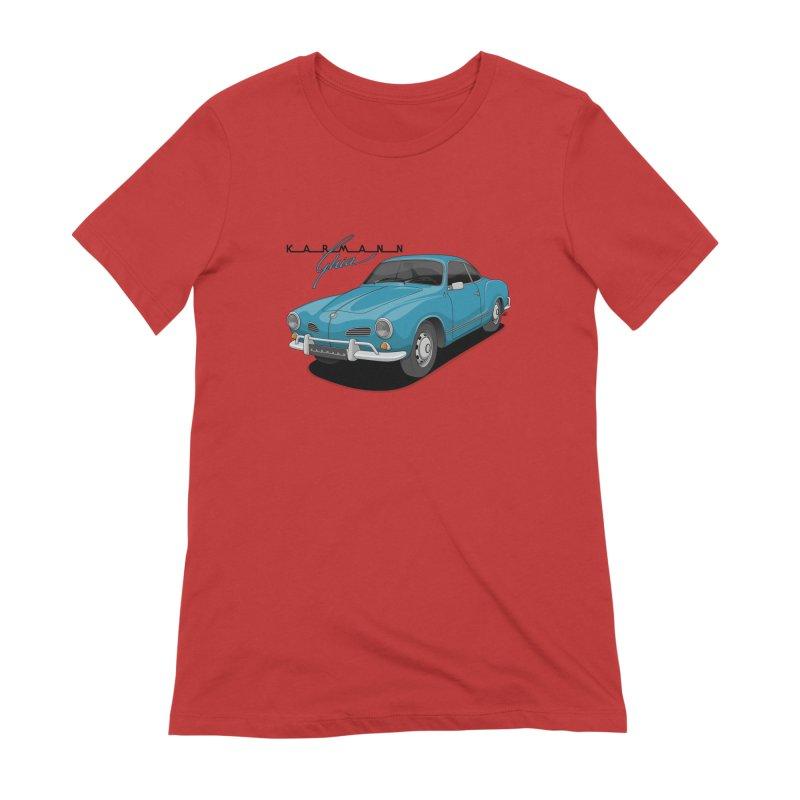 Karmann Ghia Women's Extra Soft T-Shirt by Apparel By AB