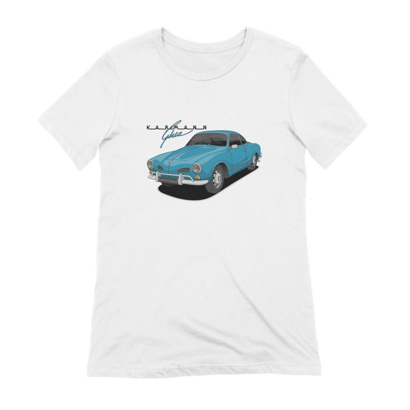 Karmann Ghia Women's Extra Soft T-Shirt by Apparel By AB
