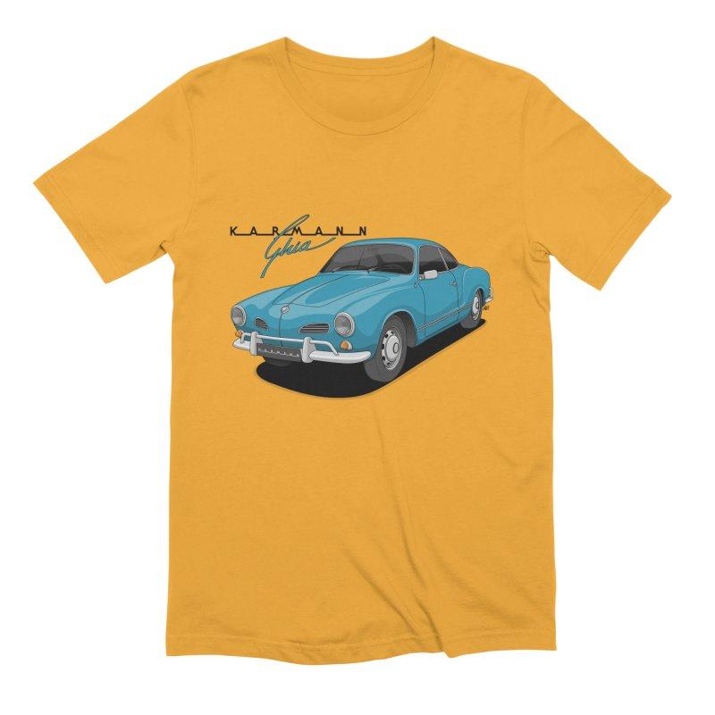 Karmann Ghia Men's Extra Soft T-Shirt by Apparel By AB