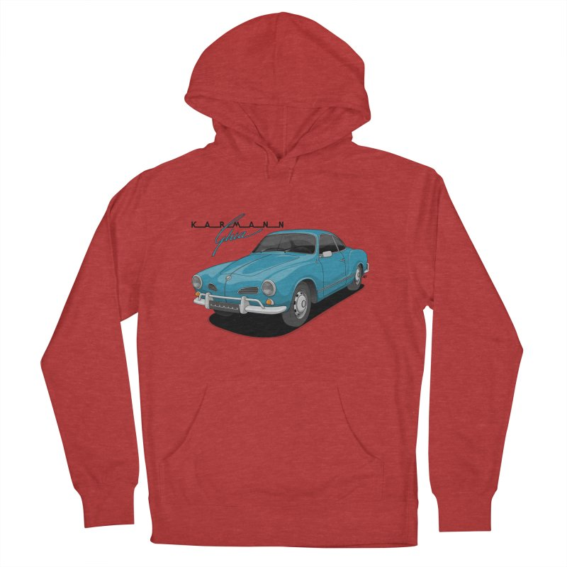 Karmann Ghia Men's French Terry Pullover Hoody by Apparel By AB