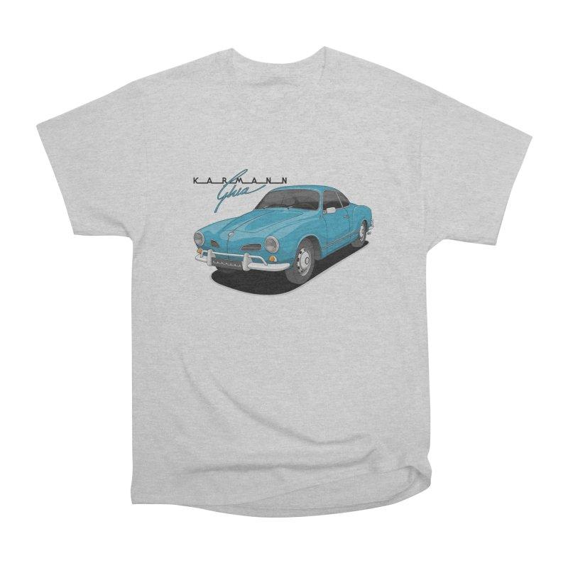 Karmann Ghia Men's Heavyweight T-Shirt by Apparel By AB