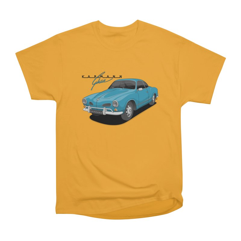 Karmann Ghia Men's Heavyweight T-Shirt by Apparel By AB