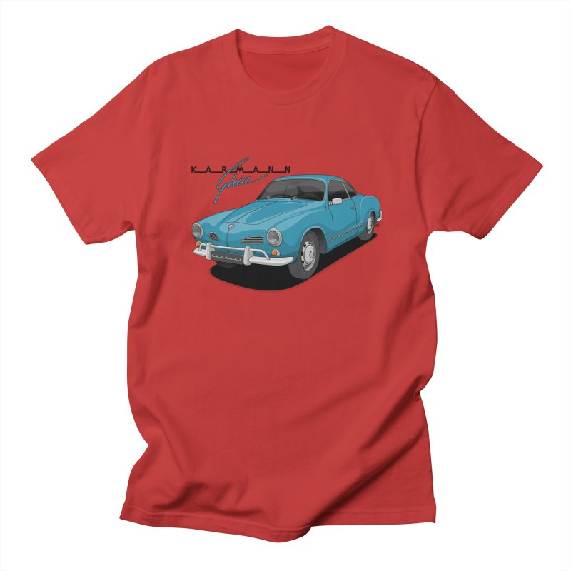 Karmann Ghia Women's Regular Unisex T-Shirt by Apparel By AB