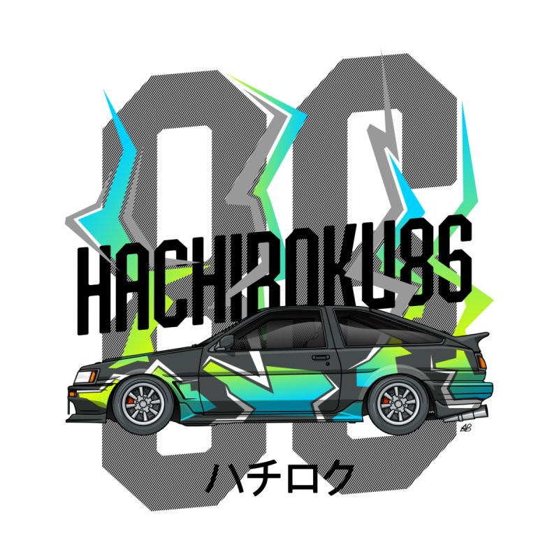 Hachiroku Women's T-Shirt by Apparel By AB