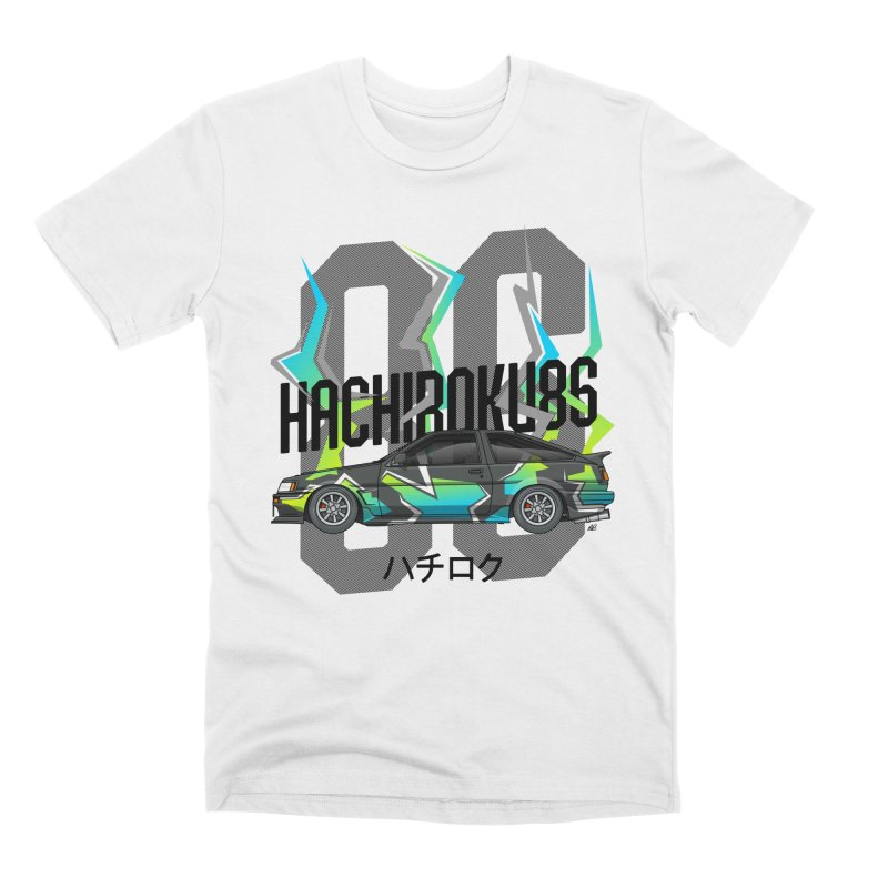 Hachiroku Men's Premium T-Shirt by Apparel By AB