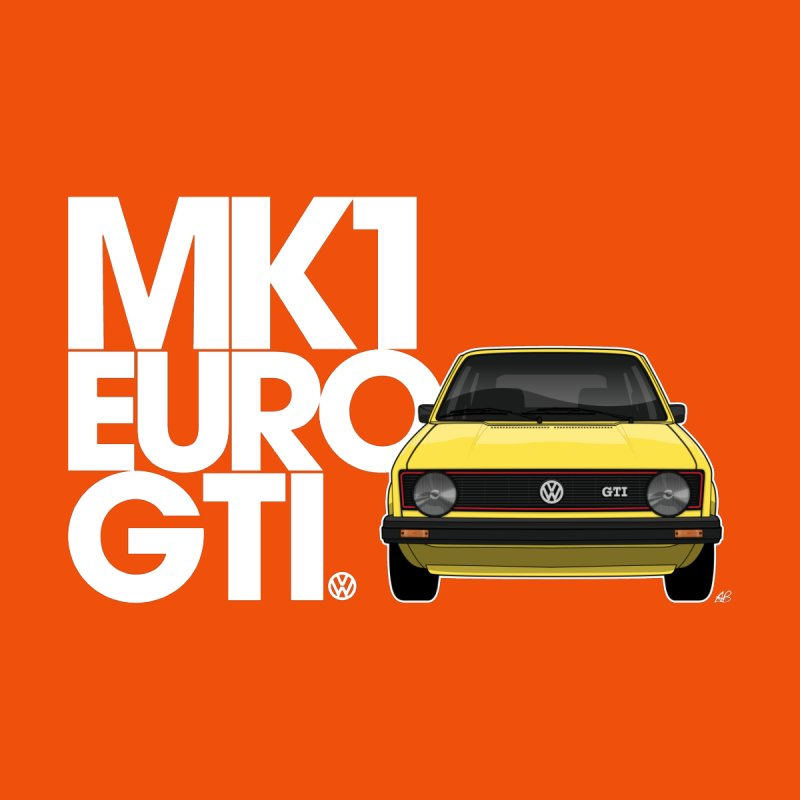 VW MK1 Euro GTI Women's T-Shirt by Apparel By AB