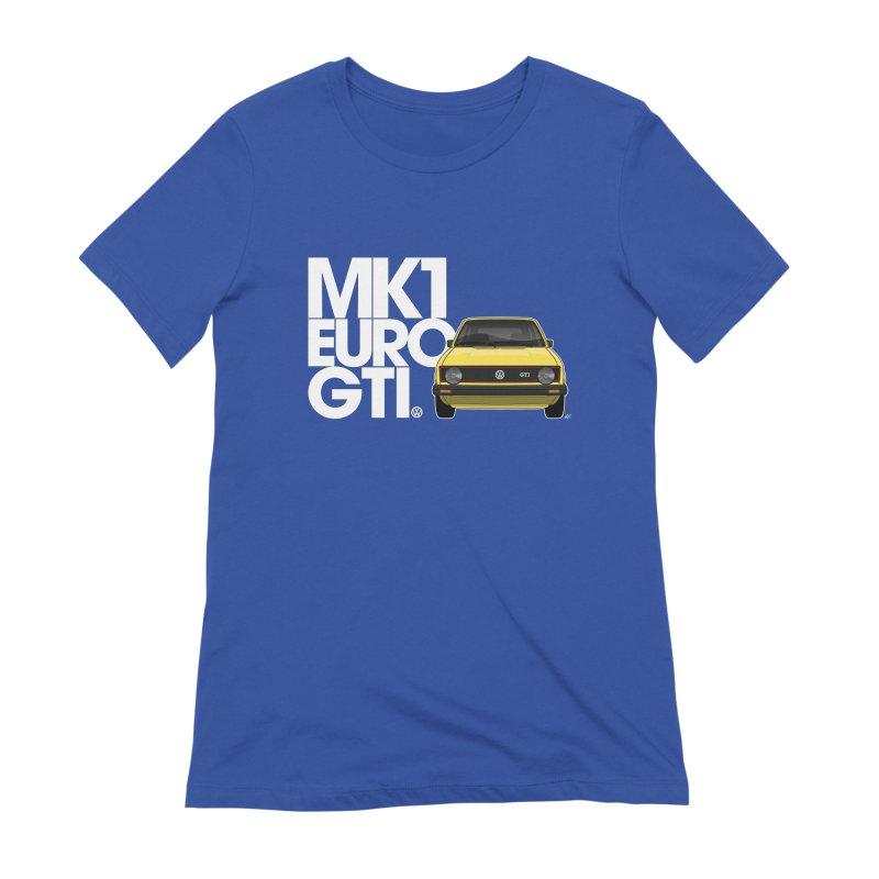 VW MK1 Euro GTI Women's T-Shirt by Apparel By AB