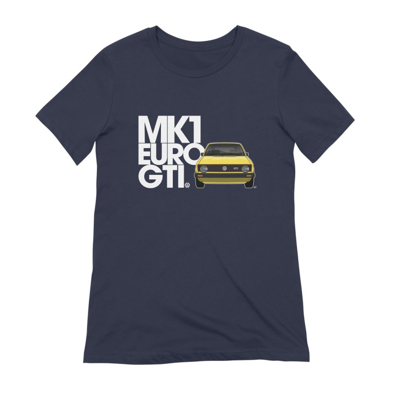 VW MK1 Euro GTI Women's Extra Soft T-Shirt by Apparel By AB