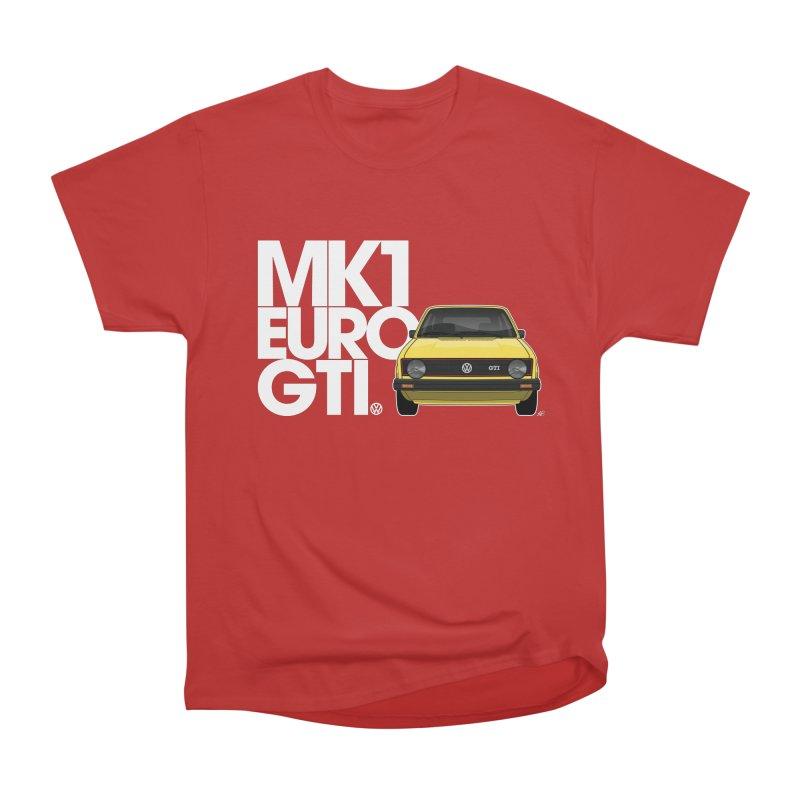 VW MK1 Euro GTI Men's T-Shirt by Apparel By AB