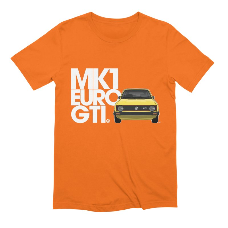 VW MK1 Euro GTI Men's Extra Soft T-Shirt by Apparel By AB