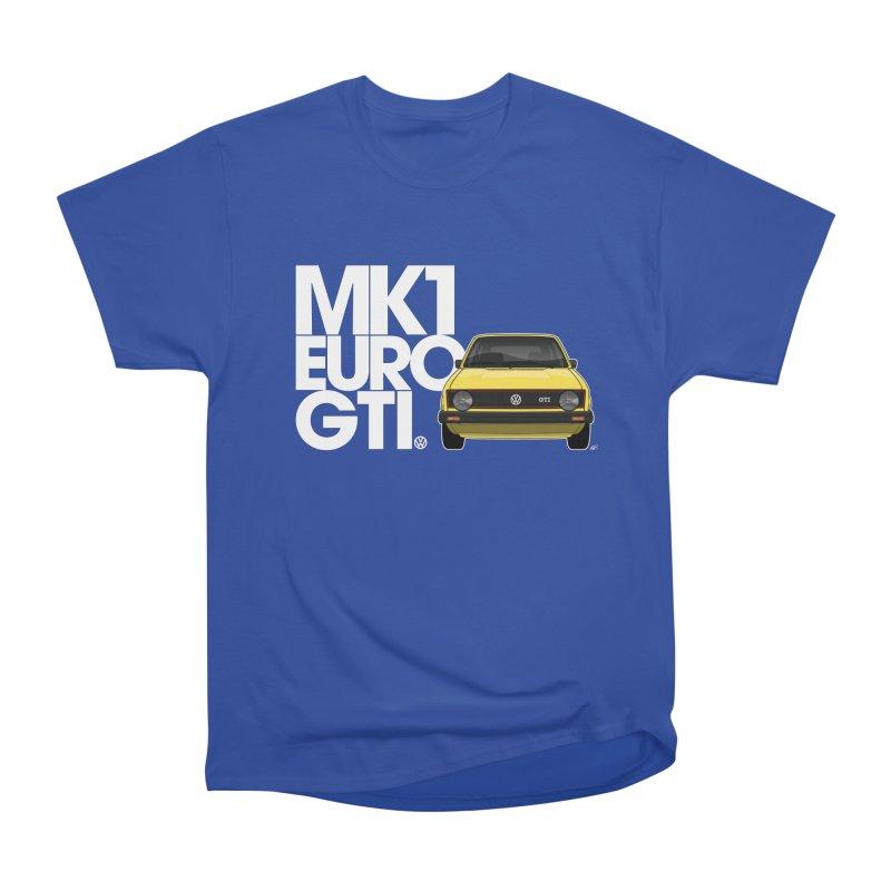 VW MK1 Euro GTI Women's Heavyweight Unisex T-Shirt by Apparel By AB