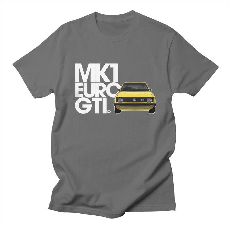 VW MK1 Euro GTI Women's Regular Unisex T-Shirt by Apparel By AB