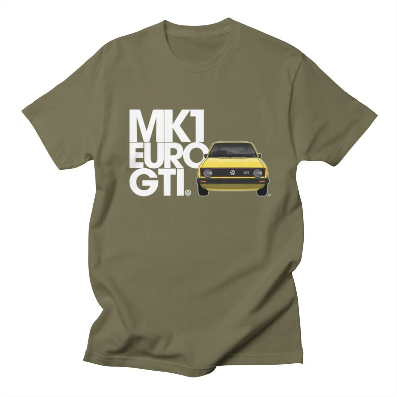 VW MK1 Euro GTI Men's T-Shirt by Apparel By AB