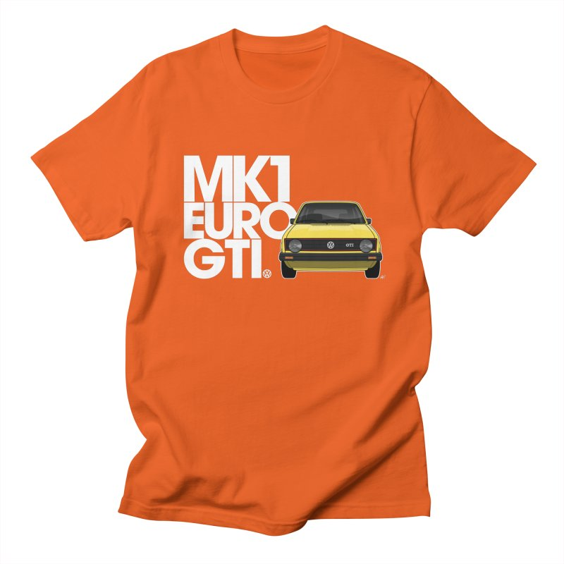 VW MK1 Euro GTI Women's Regular Unisex T-Shirt by Apparel By AB