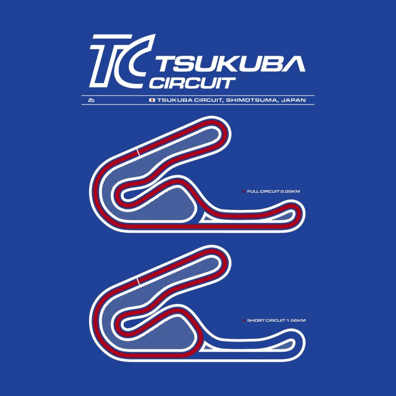 Tsukuba Circuit Men's T-Shirt by Apparel By AB