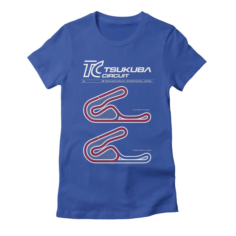 Tsukuba Circuit Women's T-Shirt by Apparel By AB