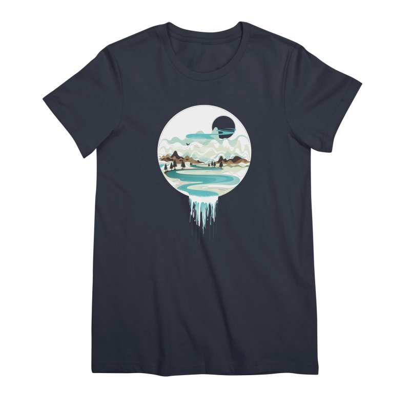 Nature Flows Women's Premium T-Shirt by Apparel By AB