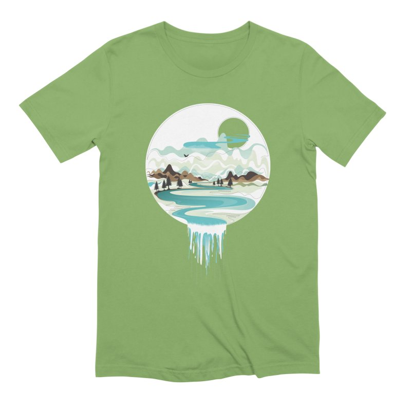 Nature Flows Men's Extra Soft T-Shirt by Apparel By AB
