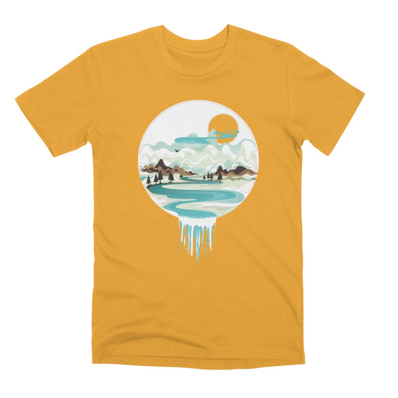 Nature Flows Men's Premium T-Shirt by Apparel By AB