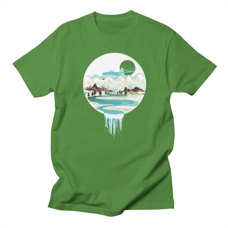Nature Flows Men's T-Shirt by Apparel By AB