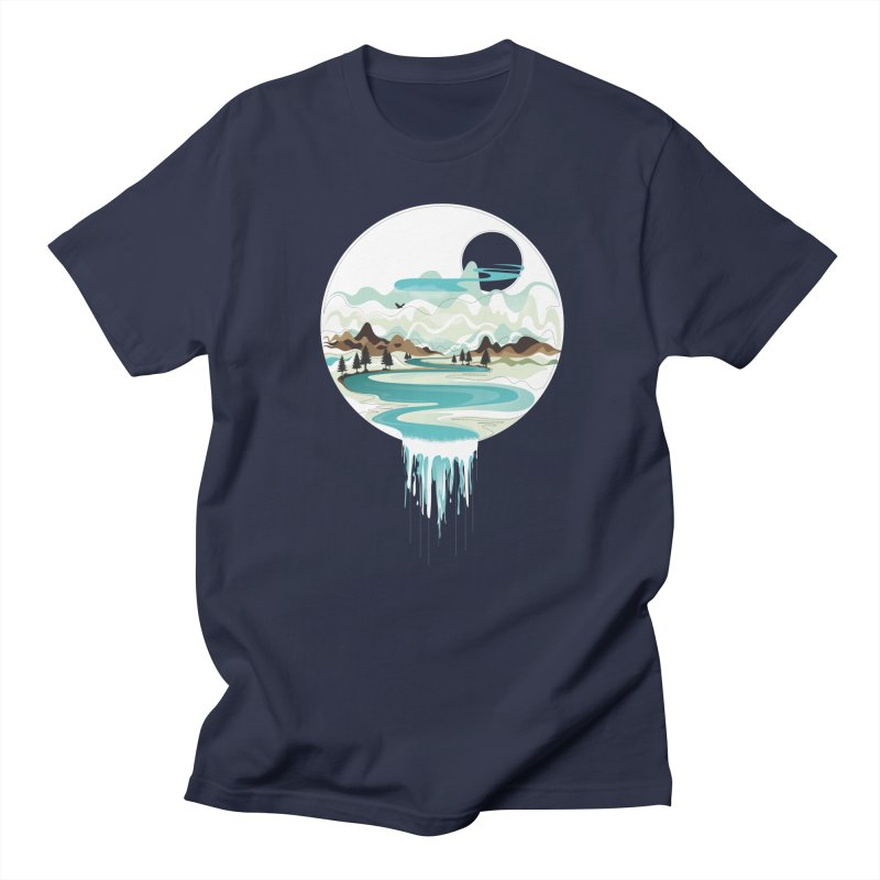 Nature Flows Men's Regular T-Shirt by Apparel By AB