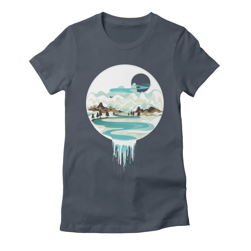 Nature Flows Women's T-Shirt by Apparel By AB