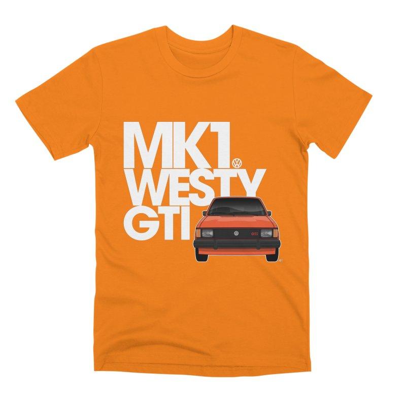 Golf GTI MK1 Westy Men's T-Shirt by Apparel By AB