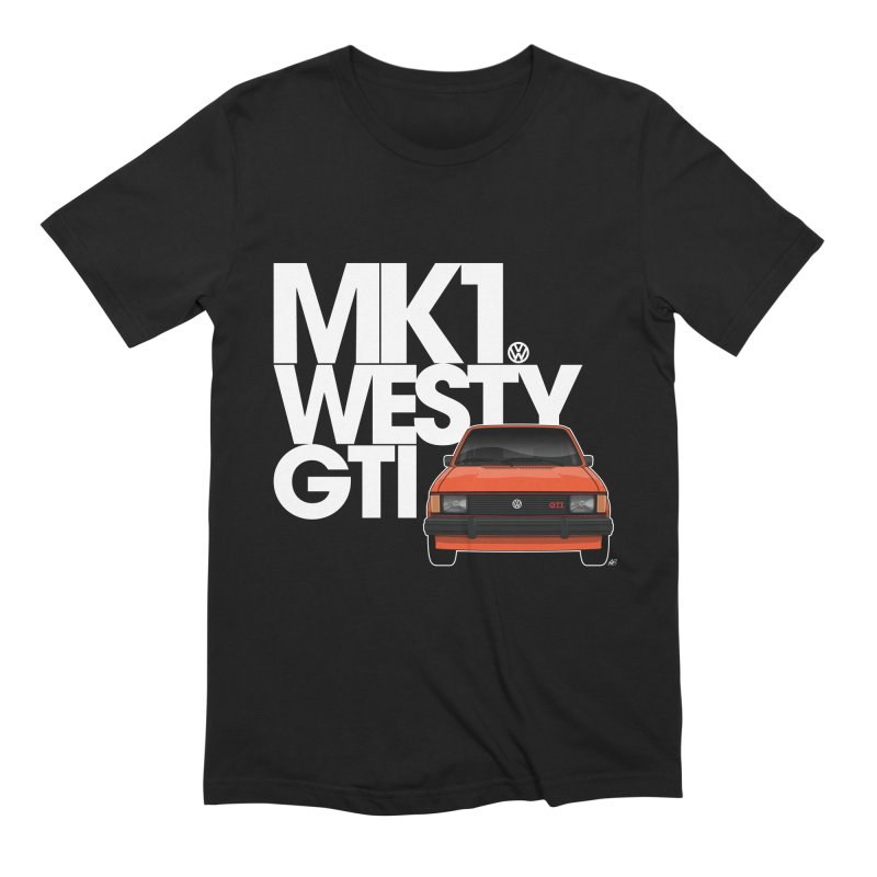 Golf GTI MK1 Westy Men's Extra Soft T-Shirt by Apparel By AB