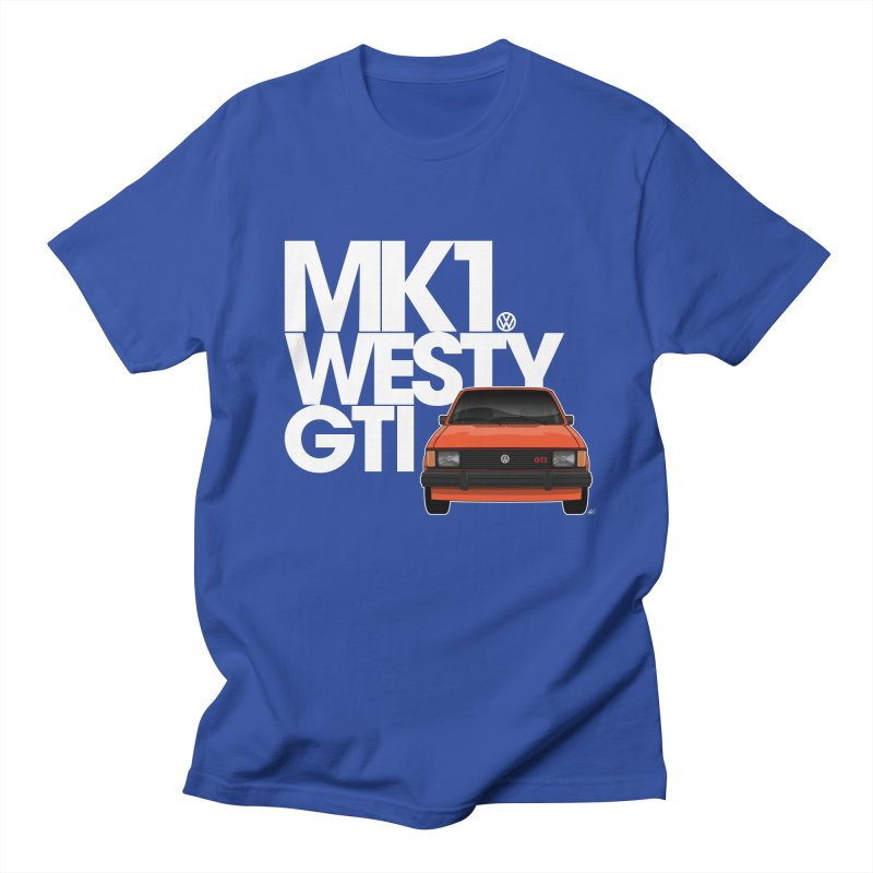 Golf GTI MK1 Westy Men's T-Shirt by Apparel By AB